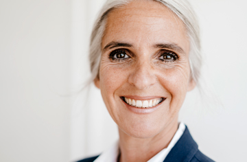 retirement readiness woman headshot